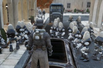 Баг в Fallout 76 стал причиной спавна огромного количества роботов-садовников и дворецких