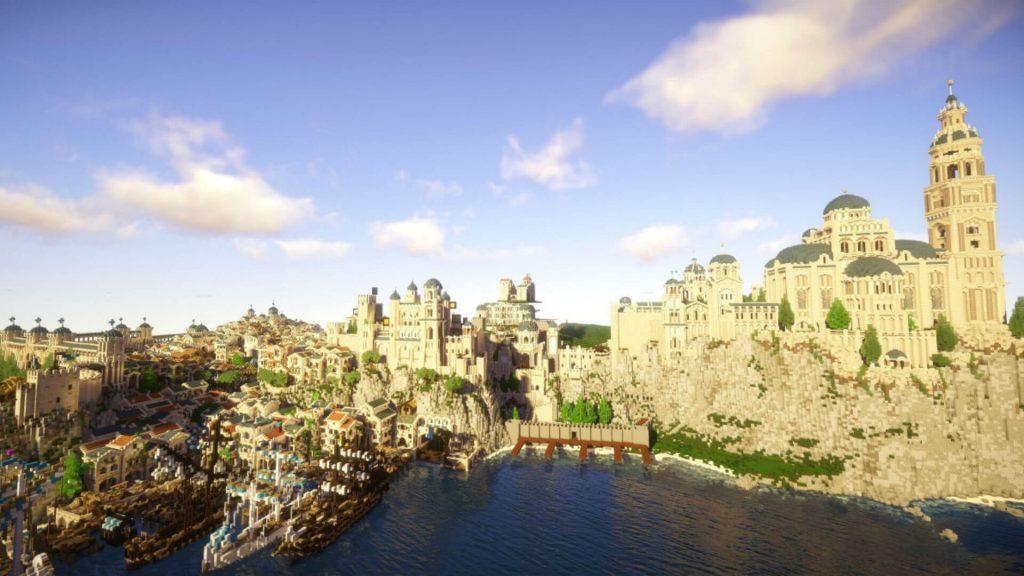 Средиземье в Minecraft