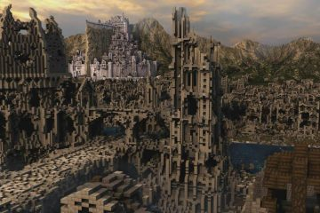 Лучшие постройки Minecraft