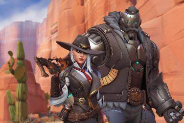 Blizzard добавила нового героя Эш в Overwatch, показав обзор её скинов и способностей
