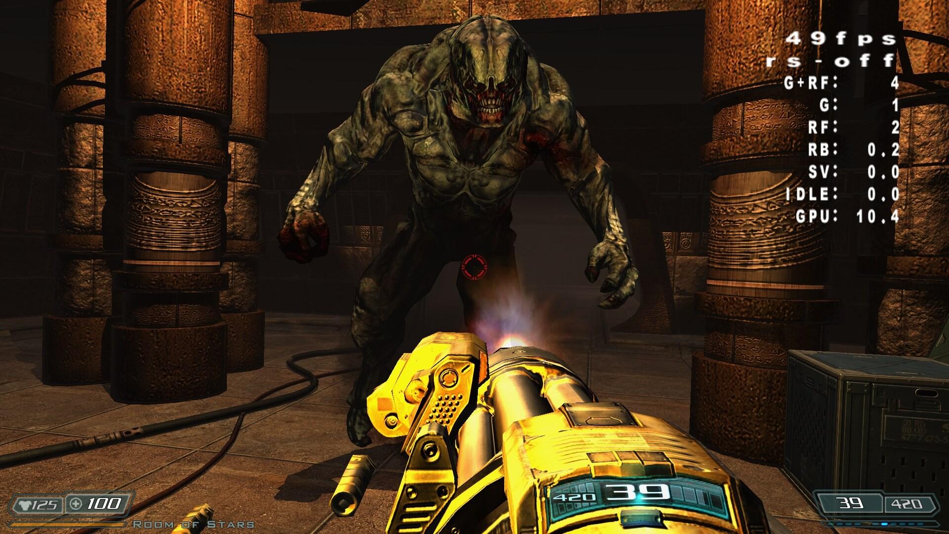Мод Doom 3 BFG Hi Def добавляет многополигональные модели