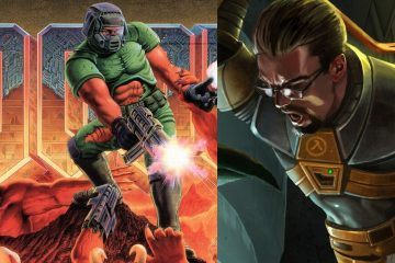 Крутая модификация, которая воссоздает Half-Life в игре Doom