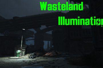 Мод Fallout 4 Wasteland Illumination добавляет 1380 огней к 763 источникам света в пустошах Содружества