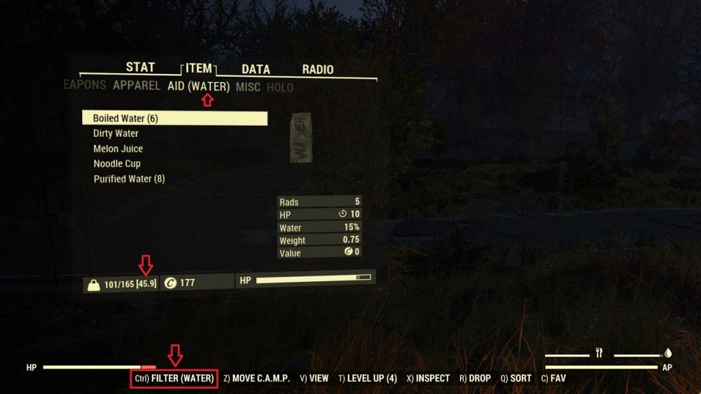 Улучшенный Инвентарь — первый обязательный мод для Fallout 76