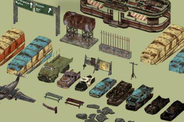 Мод Level of Detail, заметно улучшающий уровень детализации в Fallout: New Vegas