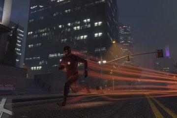 Мод для GTA 5 позволяет вам играть Флэшем