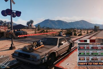 """Мод """"Назад в будущее"""" для GTA V, который позволяет вам путешествовать во времени"""