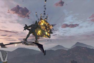 Мод для Grand Theft Auto V позволяет вам стать зеленым гоблином и летать на его глайдере