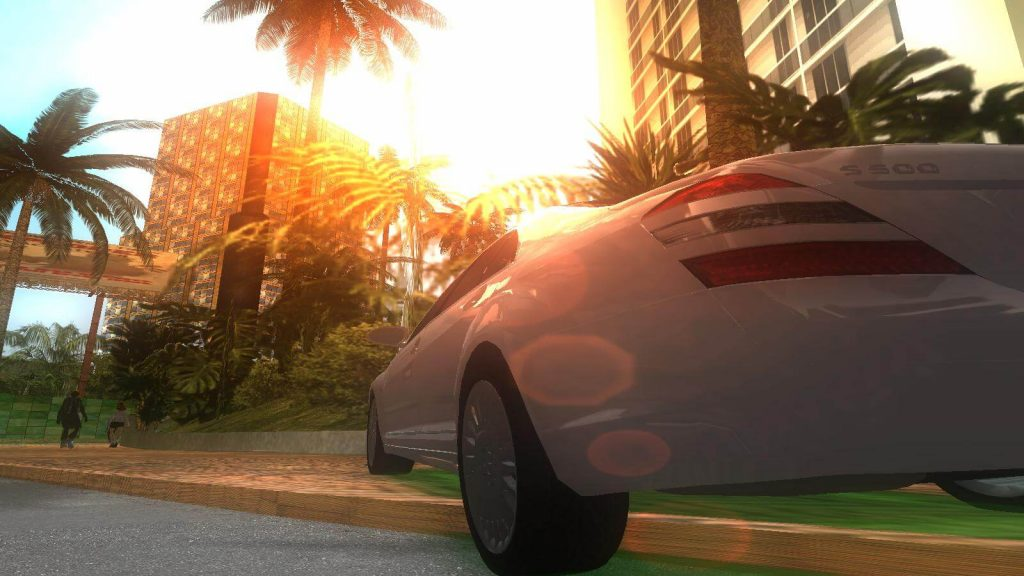 Мод Modern для GTA Vice City добавляет новые текстуры и HD траву, а также включает исправления LOD