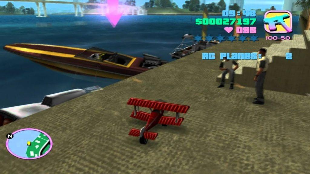 Миссия с радиоуправляемыми самолетами — Grand Theft Auto: Vice City