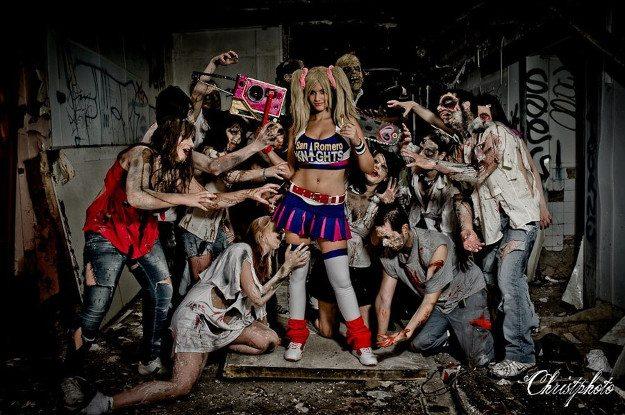 Косплей дня: сквозь толпу зомби – косплей Джульетты Старлинг