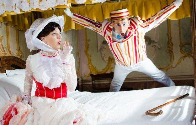 Немного волшебства: косплей Мэри Поппинс и Берта!