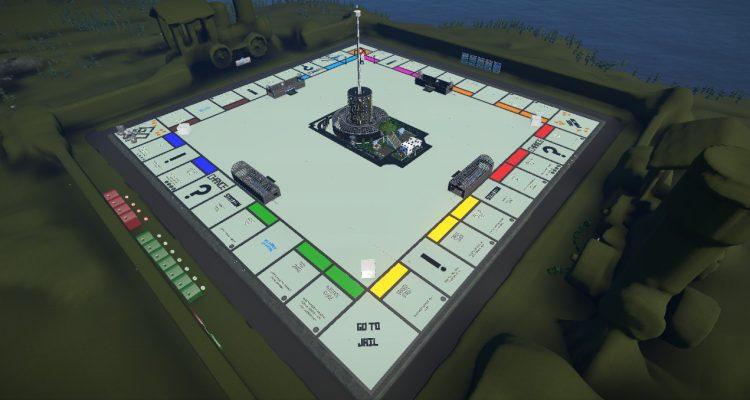 Монополия в Planet Coaster – полноценный играбельный парк развлечений