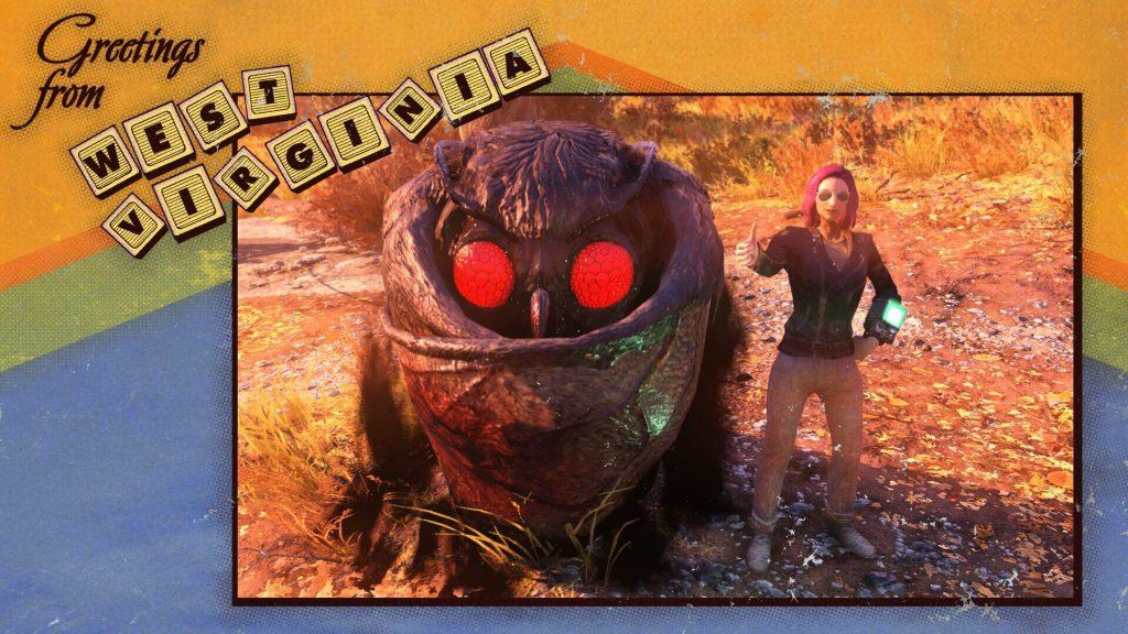 Некоторые игроки Fallout 76 просто мило общаются с Мотыльком