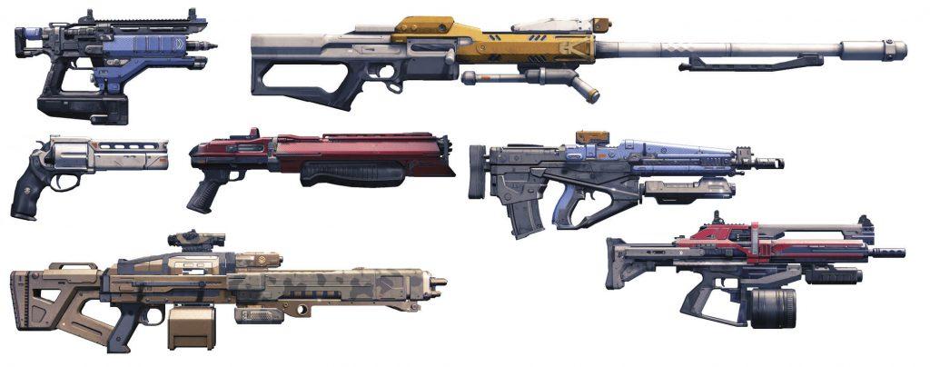 Образцы оружия