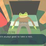 Остров с приведениями - это милая игра-детектив про лягушку и испуганного ленивца