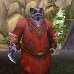 Панда-пацифист докачался до 120 уровня в World of Warcraft, собирая цветы