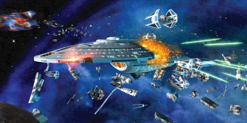 Звездные войны против Стартрека в Star Wars: Empire at War