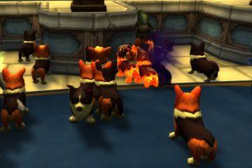 Преврати всех в корги во время празднования годовщины World of Warcraft