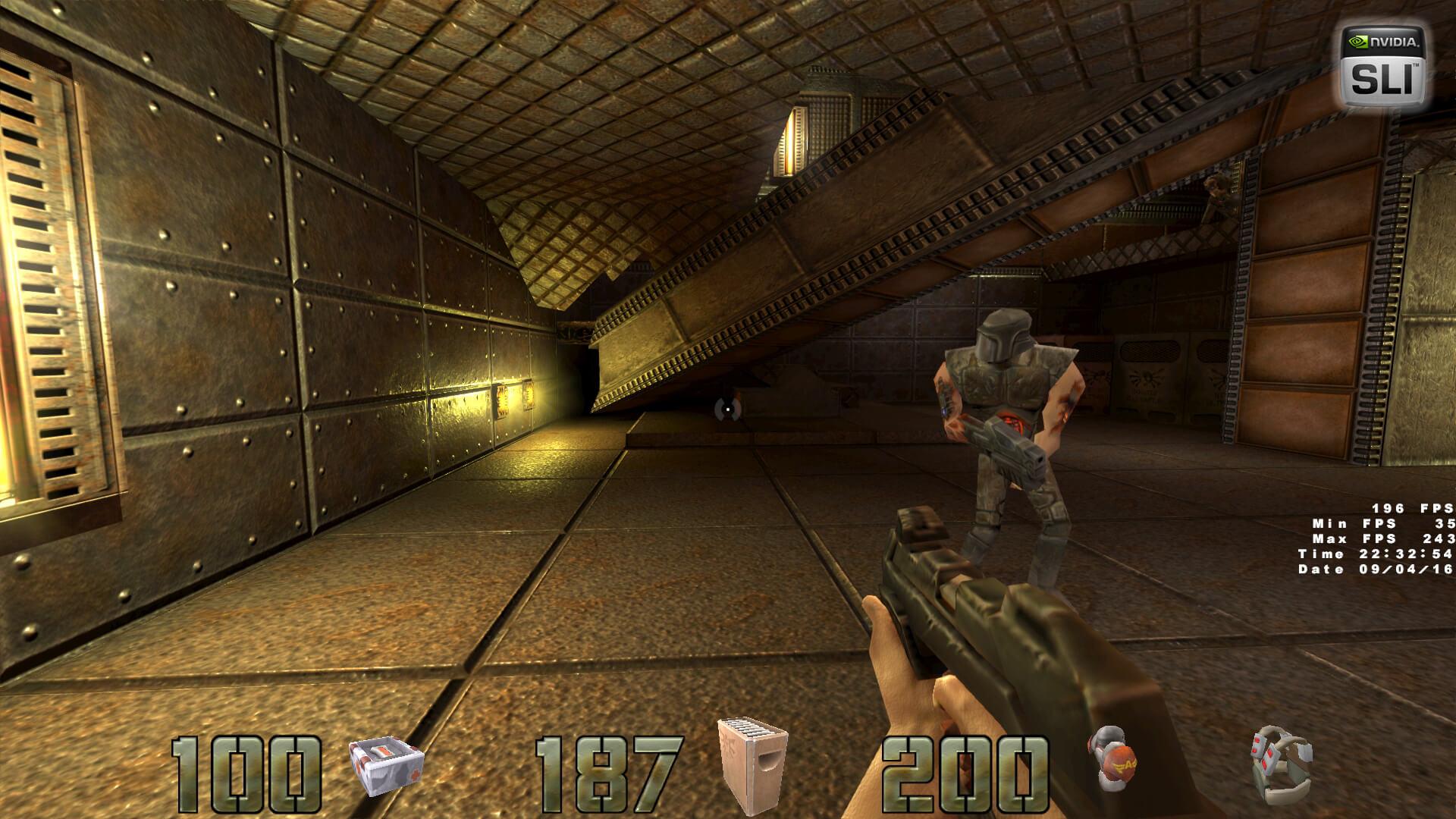 Новый мод добавляет в Quake 2 высокополигональные 3D-модели
