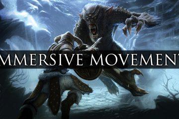 Мод Immersive Movement для Skyrim существенно улучшает движения игрока, животных и других созданий