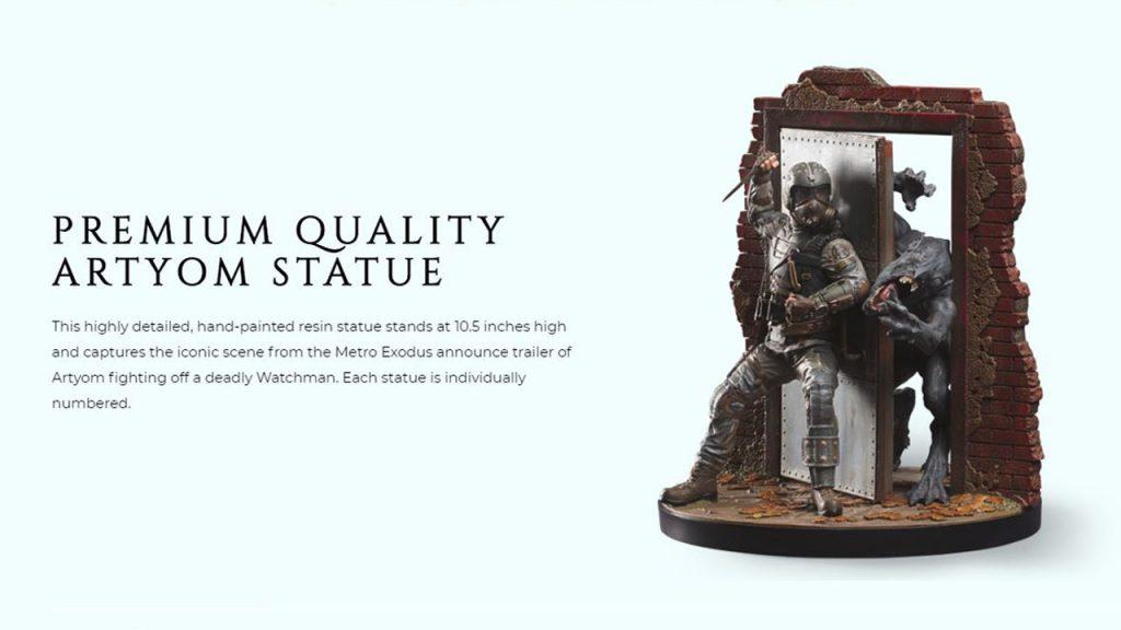 Станьте обладателем фигурки Артёма вместе с коллекционным изданием Метро: Исход