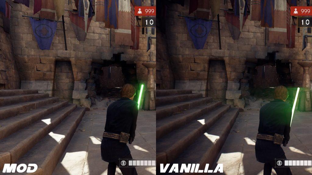 Мод для Star Wars Battlefront 2 удаляет раздражающий эффект хроматической аберрации