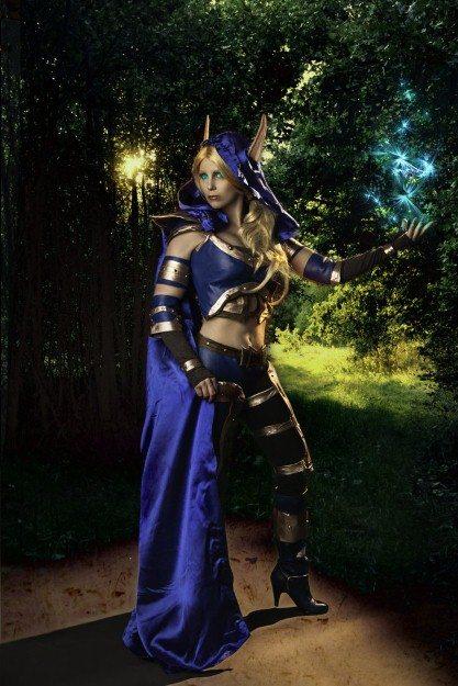 Эпичный игровой косплей: вкусите ярость Сильваны Ветрокрылой из Warcraft