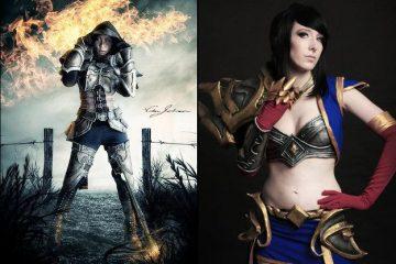 Самые эпичные косплеи героев Diablo III