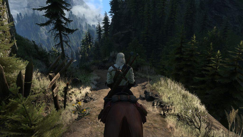 3-я версия мода Beautiful Grass для The Witcher 3 улучшает траву в игре
