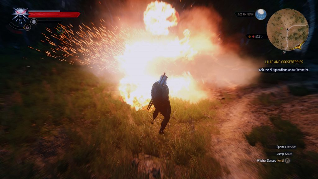 Мод для The Witcher 3 значительно улучшает систему эффектов частиц