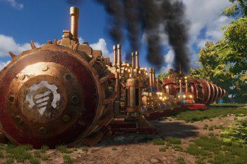 Трейлер игры на выживание в стимпанке Volcanoids демонстрирует прекрасные мобильные базы
