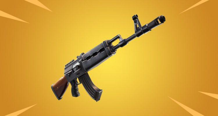 В Fortnite появится новая штурмовая винтовка
