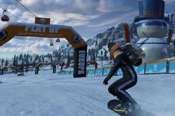 В новой игре от Tencent можно очень весело кататься на сноуборде