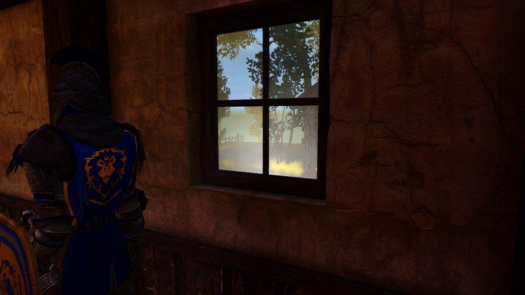 Мододел полностью воссоздает мир World of Warcraft в Skyrim