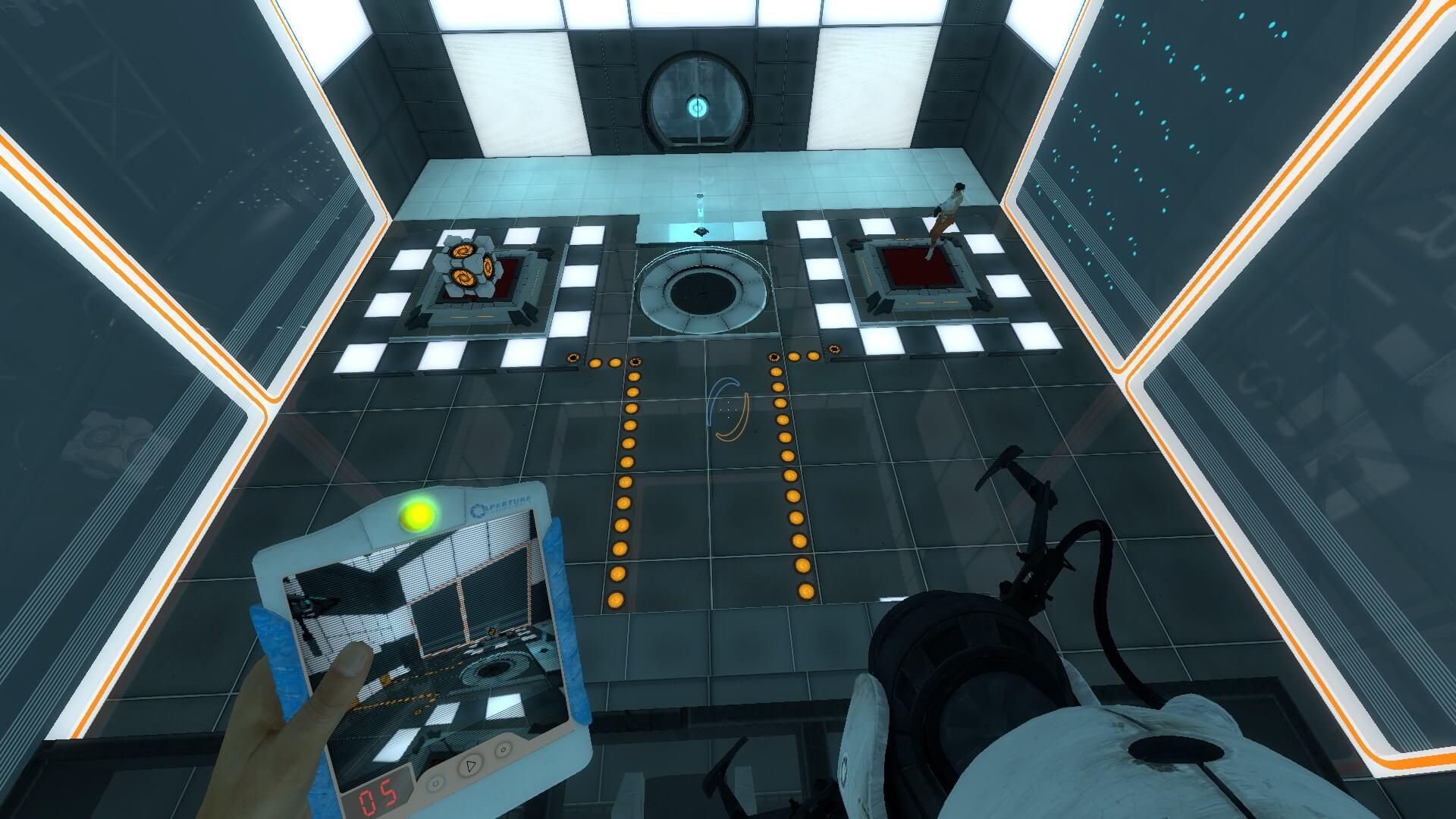 карта 2 в играть portal