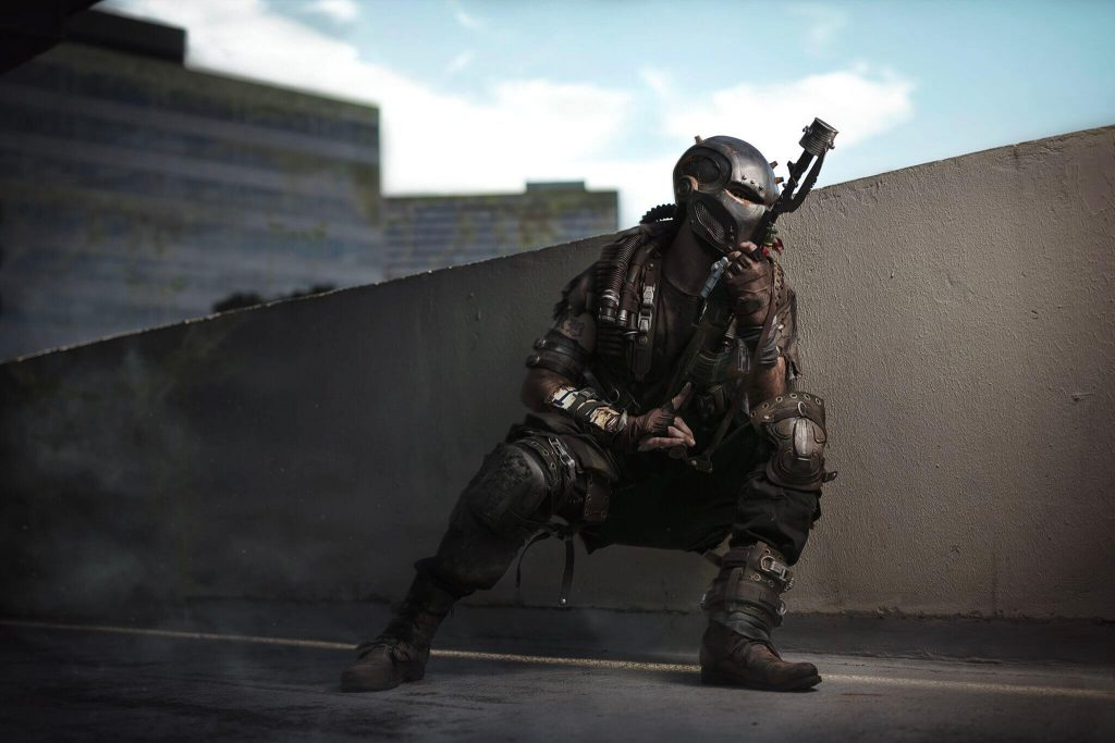Крутой косплей по Fallout