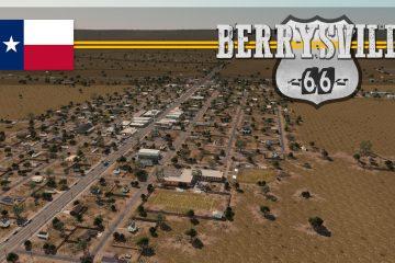 Посмотрите, как строился маленький техасский городок в Cities: Skylines, с историями о его жителях