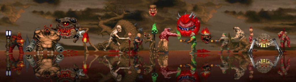 Мод Doom использует обработку с помощью нейросети