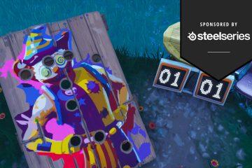 Где найти ужасные клоунские стэнды в Fortnite