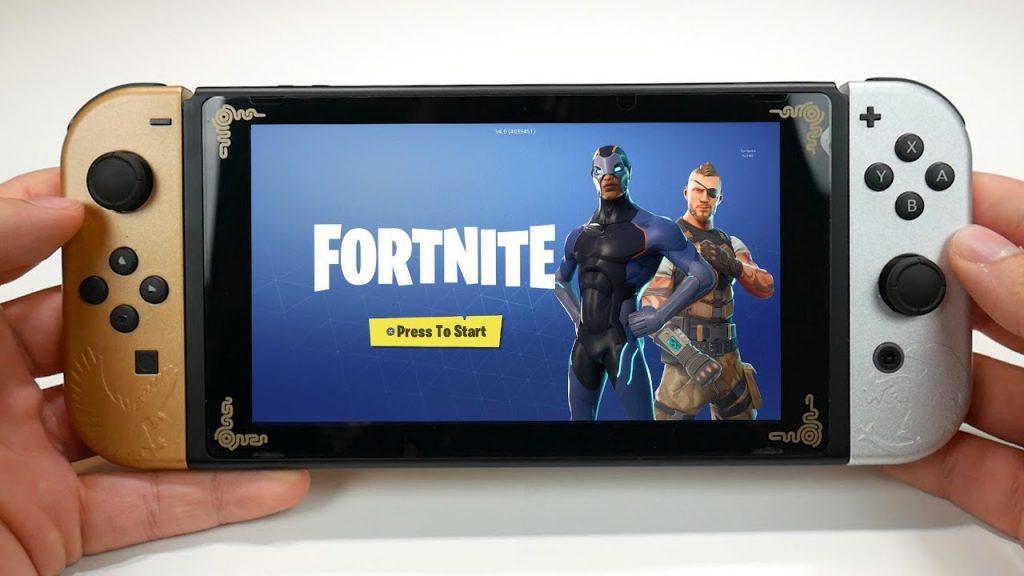 Fortnite на Nintendo Switch поддерживает кроссплатформенную игру с ПК