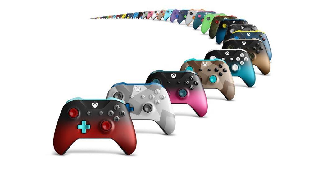 Сделанный на заказ беспроводной геймпад Xbox One Elite