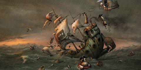 Идеальная модель пиратства