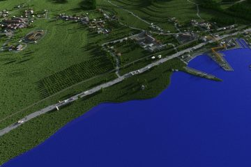 Карта Черноруссии из Arma 2 и DayZ была красиво воссоздана в Minecraft