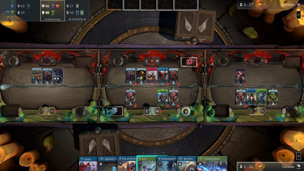 Количество игроков Artifact круто снизилось с момента выпуска