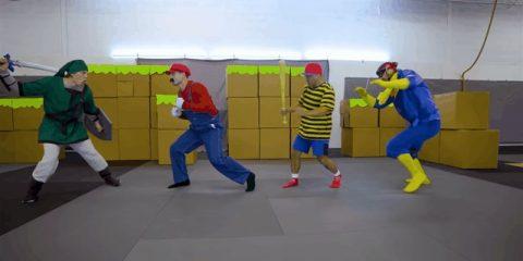 Каскадер Marvel воссоздает трюки из Super Smash Bros.