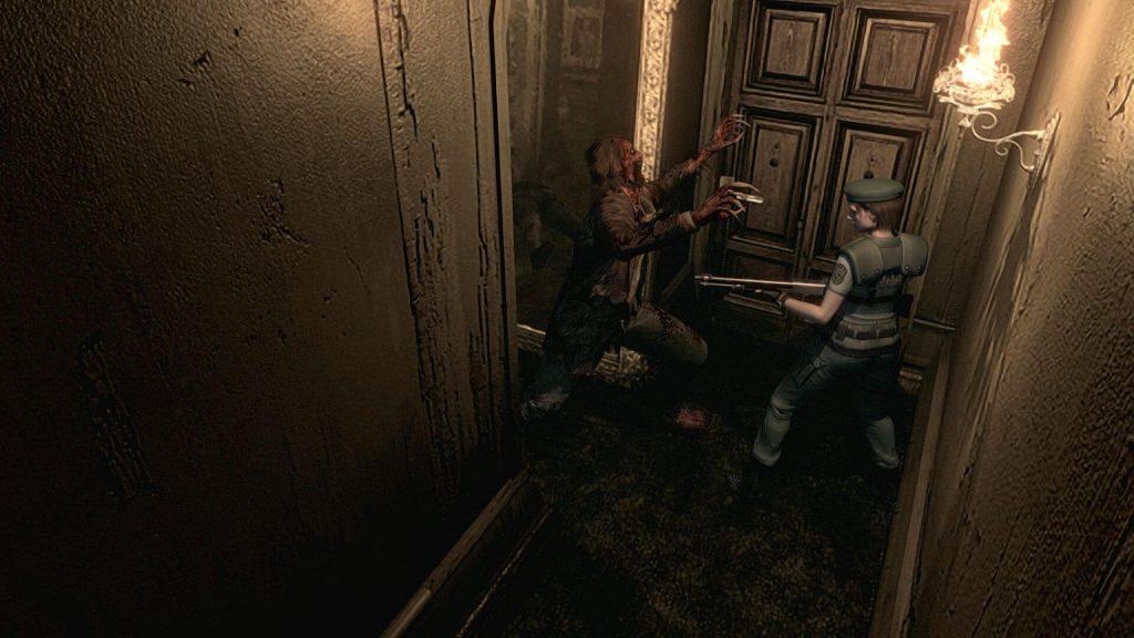 Зомби/Кровавоголовый/Дж'аво: Resident Evil 1 и 5
