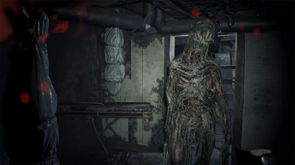 Плесневик (Обычный, Четвероногий, Толстый, Дымящийся): Resident Evil 7: Biohazard