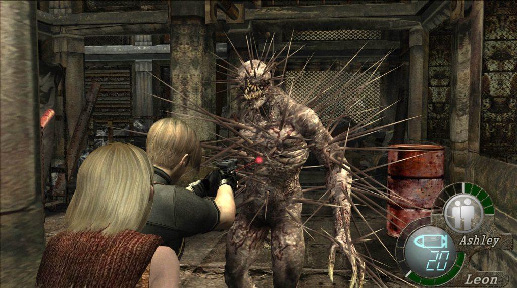Регенераторы/Железная дева: Resident Evil 4