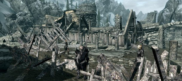 Мод Возрождение Хелгена для Skyrim